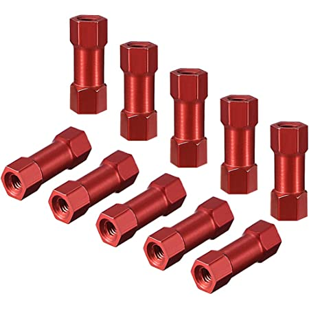 Purple Hobbypark 8-Pack Metal Aluminum Alloy M3x20mm Standoffs Spacer for RC Quadcopter FPV Racer Drone Parts