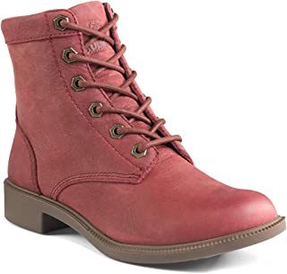 Kodiak Women's Original All Season Waterproof Ankle Boot Red 6.5