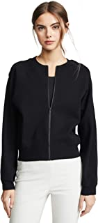 Vince Women's Seamed Bomber Cardigan