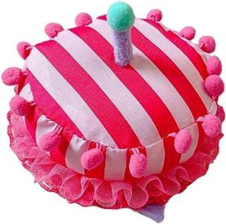 PRETYZOOM Cappello Candela Compleanno Peluche Divertente Cappello Torta Compleanno Novità Cappello Festa Compleanno per Ba...