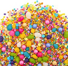 Flavored Candy Sprinkles   UNICORN 8oz   Made From Candy!   Gluten Free. Nut Free. Dairy Free.   Strawberry. Lemonade. Blue Raspberry. Key Lime. Wild Berry. Vanilla.