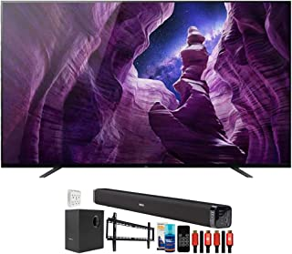 Sony XBR65A8H 65 inch A8H 4K Ultra HD OLED Smart TV (2020 Model) Bundle with Deco Gear Home Theater Soundbar with Subwoofe...