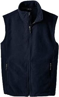Men's Soft and Cozy Fleece Vests in 8 Colors: Sizes XS-XL