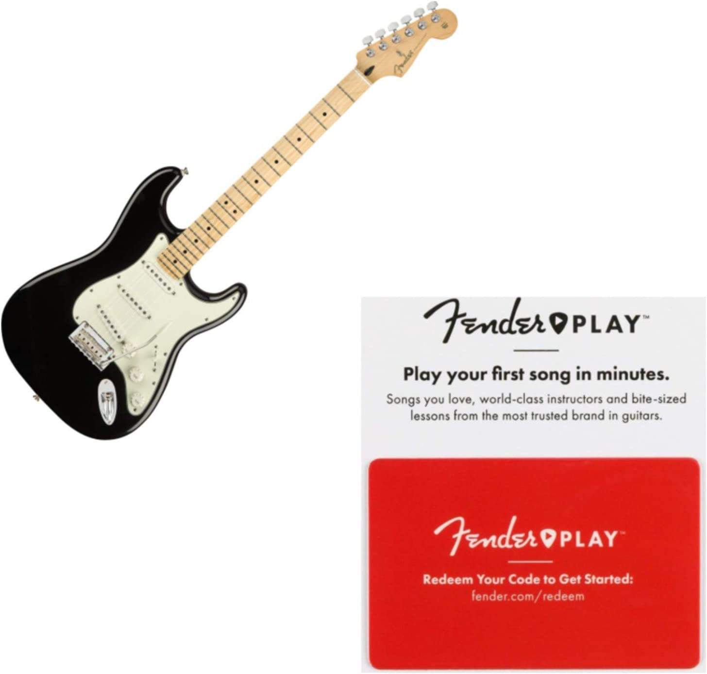 Fender Player Stratocaster Maple Fretboard Discount mail order Electric Guitar Black excellence