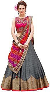 Best semi stitched lehenga choli with dupatta Reviews