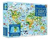 Atlante del mondo. Libro e puzzle. Ediz. a colori. Con puzzle