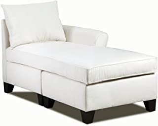 Carolina Accents Belle Meade Right Arm Chaise, Natural