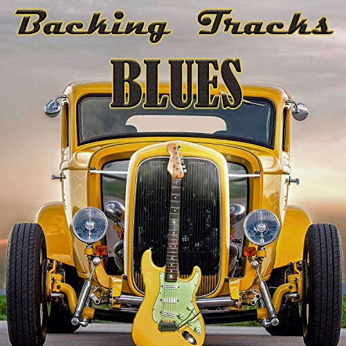 Slow and Sexy Blues Backing Track in D