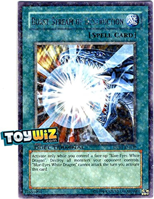 YuGiOh   Burst Stream of Destruction (DT01EN039)  Duel Terminal 1  1st Edition  Rare