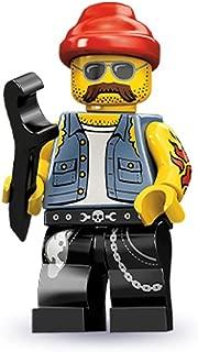Lego Series 10 Motorcycle Mechanic Mini Figure