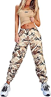 Doufine Womens Loose Running Casual with Pockets Sweatpants Jogger Pant