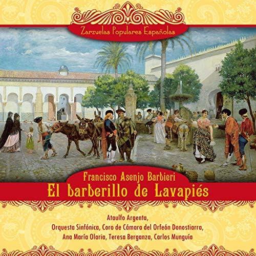 Ataulfo Argenta, Gran Orquesta Sinfónica, Coro de Cámara del Orfeón Donostiarra, Ana María Olari