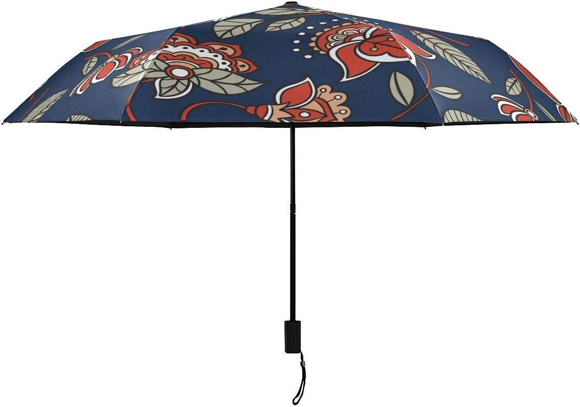 Batik Floral Plants Parasol Compact Nano Cheap super special price Umbrella RainWind Spring new work Rain