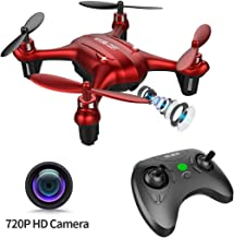 TEC.BEAN Mini Drone for Kids with 720P HD Camera, Nano Drone Quacopter with Hovering and Headless Mode One Key Return Home, Easy to Fly for Beginners
