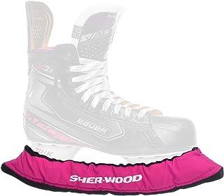 SHERWOOD - Junior Pro Eishockey elastische Kufenstrümpfe für Kinder Eishockey- & Schlittschuhe, 2 Stück