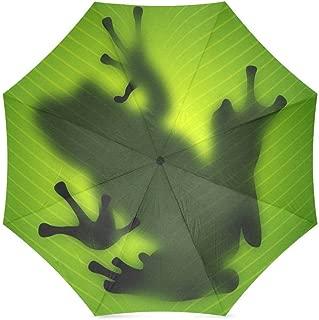Cute Red Eyed Tree Frog Folding Rain Umbrella/Parasol/Sun Umbrella