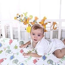 Juguetes Colgantes Espiral de Animales para Cuna Cochecito Carrito bebés niños niñas Arrastrar-Colorido