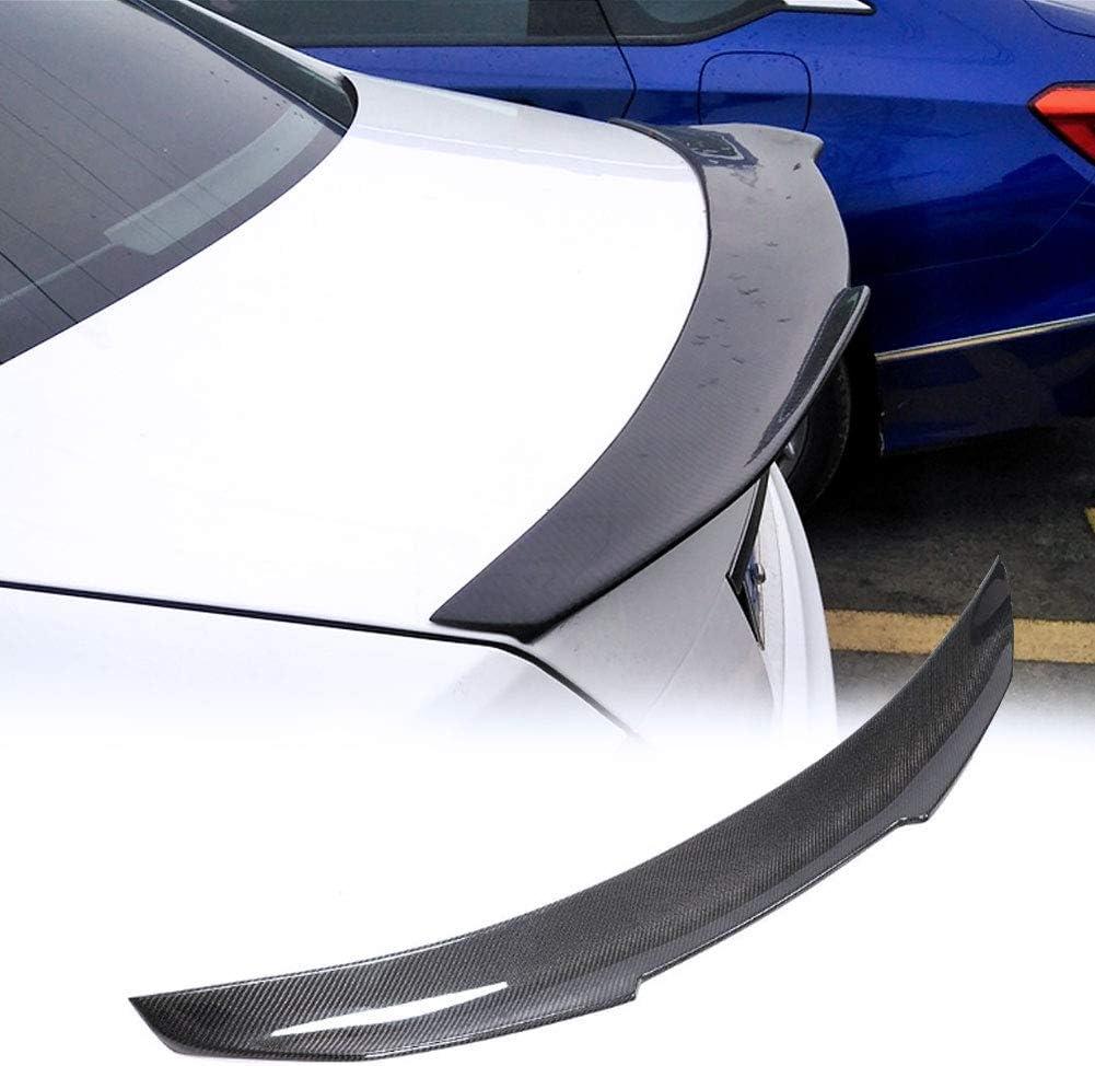 TGFOF Real Carbon Credence Fiber Trunk Spoiler for Fit Mercedes Benz Indefinitely Wing