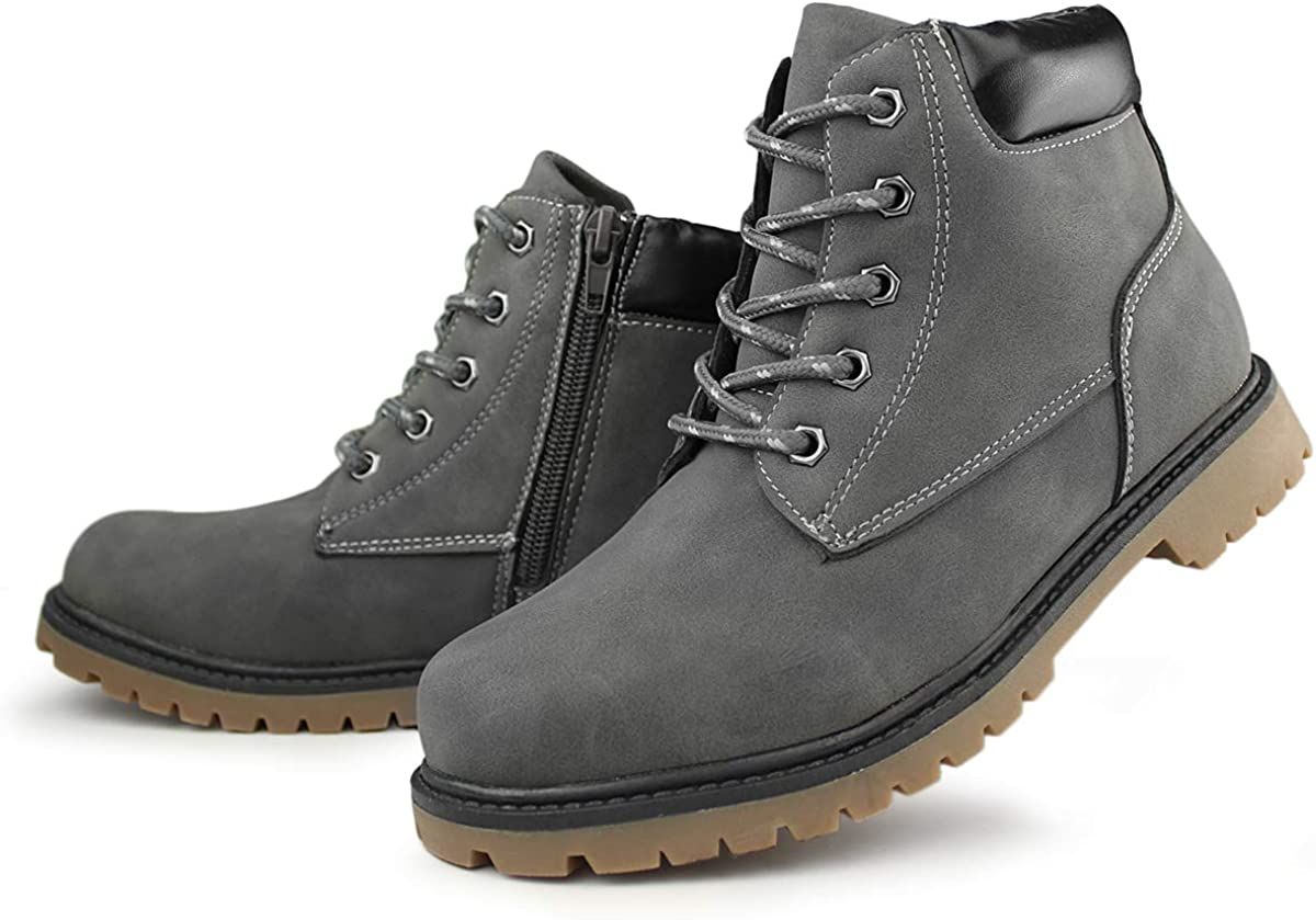Hawkwell Kids Classic Zipper Waterproof Super special price Boot Jacksonville Mall Work Comfort Toddle