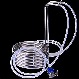 LGR Tube de Refroidisseur de moût d'immersion 304 Brassage en Acier Inoxydable Refroidisseur de moût Super Efficace pièce ...