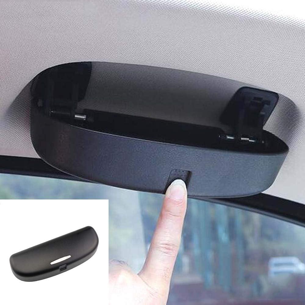 Shangdeli Auto Brillenetui Sonnenbrille Halter Brillenhalter Brillenfach Für 3er 5er X1 X3 F25 X5 F10 F11 F18 F80 F20 F21 F32 F33 F35 F48 Zubehör Auto