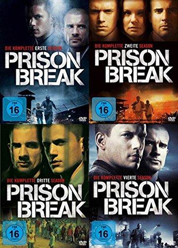 Prison Break Staffel 1-4 Set Die komplette Serie