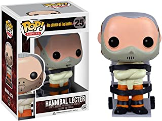Funko Hannibal Lecter: The Silence of The Lambs x POP! Movies Vinyl Figure & 1 PET Plastic Graphical Protector Bundle [#02...