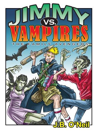 Jimmy Vs. Vampires (The Family Avengers Series Book 2)