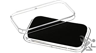 OnFireGuy Air-Tite Black Wafer Capsule Holders for 1oz or Smaller Gold Bars Qty: 10