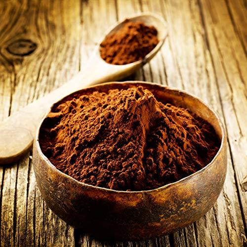 16,49€ (16,49€ pro 1kg) 1000g Bio Kakao Pulver | 1 kg | 100% reines Kakaopulver (schwach entölt 20-22 % Fett) | ohne Zusatzstoffe | intensives Aroma | plastikfrei verpackt | STAYUNG - DE-ÖKO-070