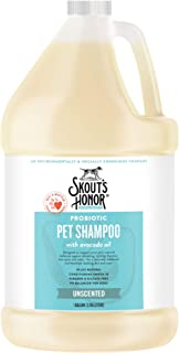 SKOUT'S HONOR: Probiotic Pet Shampoo - for Naturally Balanced and Healthier Looking Skin and Coat