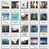 Set de 20 tarjetas postales'Motivación' con frases de motivación en el diseño polaroid de INDIVIDUAL NOMAD