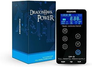 Dragonhawk Mast Tattoo Power Supply Touch Screen Digital Lcd Supplies Set For Tattoo Machines P093-2