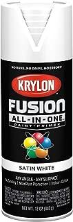 krylon white gloss fusion spray paint