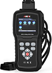 ANCEL AD610 Elite Automotive OBD Car Code Reader Engine Diagnostic Scan Tool ABS SAS SRS Crash Data Reset Scanner