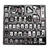 icase4u Kit de 11/15 Piezas Multifuncional Prensatelas Accesorios para Máquina de Coser Presser Foot Feet Kit Machines Set (Kit de 42 Piezas)