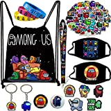 Among in Us Gifts Set Game Drawstring Bag with Shoes Charm