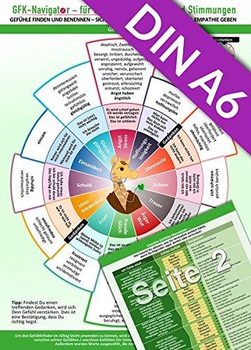 GFK-Navigator für Gefühle, Emotionen und Stimmungen (2020) Pocket Edition (DINA6 Format für die Hosentasche): Gefühle finden und benennen - sich ... - Mit über 100 Gefühlsbegriffen (laminiert)