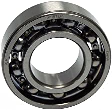 Shuster 6208 JEM Deep Groove Ball Bearing, Single Row, Open, Electric Motor Quality, C3 Clearance, 80 mm Height, 18.0 mm Width, 80 mm Length, 40.0 mm ID, 80 mm OD, High Carbon Chrome Bearing Steel