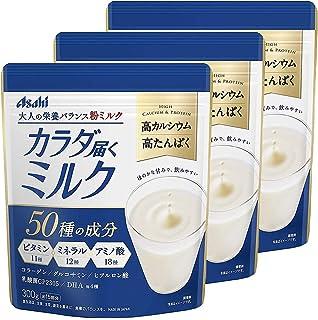 アサヒグループ食品 カラダ届くミルク 300g×3