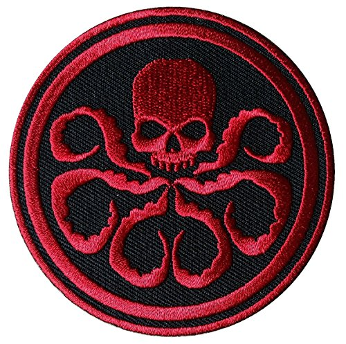 Titan One Europe Hail Hydra Cosplay Comics Embroidered Patch Iron On Aufnäher Aufbügler Patch