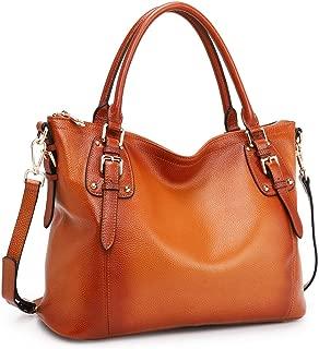 Women's Genuine Leather Handbags Shoulder Tote Organizer...