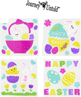Bonus ROZALYN Clip BCL Happy Easter Baskets 18-ct Packs Kids Girls Boys Girl Toddlers Gift Egg Toddler Gifts Themed Decorations Toys Stuffers Bright Fillable Plastic Easter Eggs