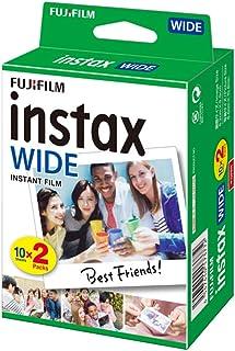 Fujifilm Instax WIDE Camera Instant Film Photo Paper for Fujifilm Instax WIDE300, 20 Sheets