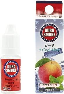 DURASMOKE 電子タバコ リキッド ピーチ 10ml