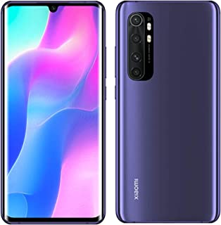 "Xiaomi Mi Note 10 Lite 128GB 8GB RAM 6.47"" 64MP DualSim International Global Version (Nebula Purple)"