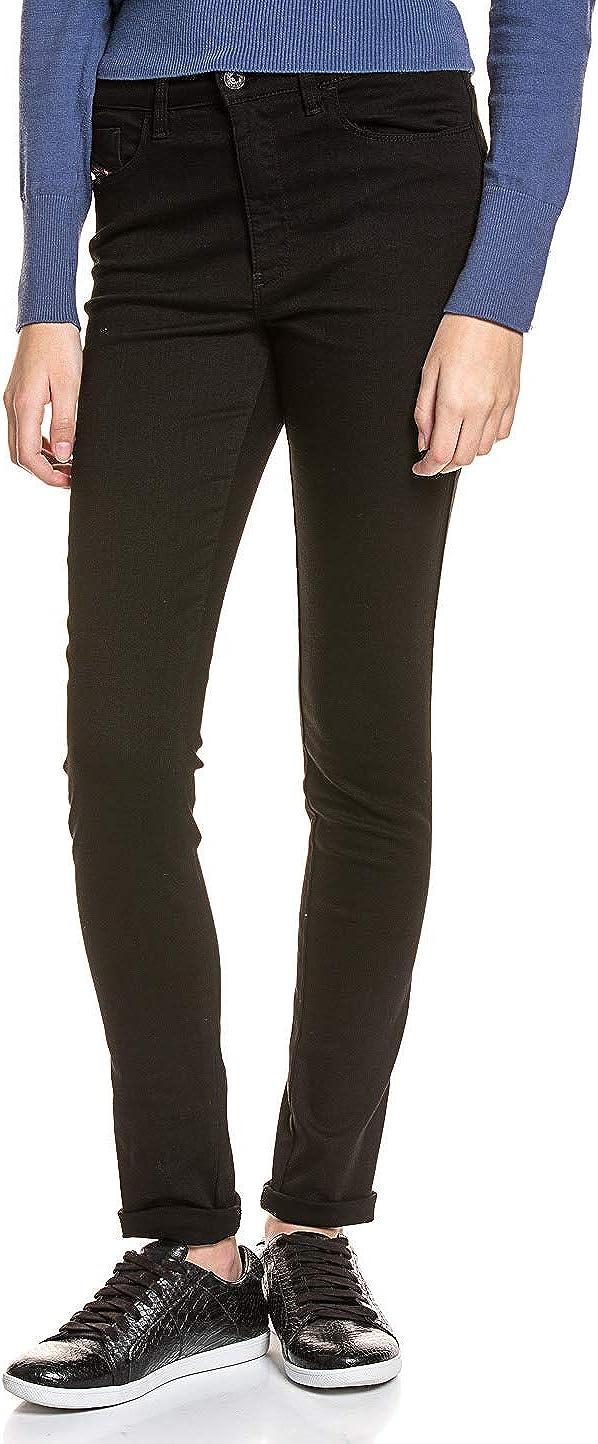 Diesel Women's Skinzee High Waisted Super Skinny Leg Jean 0813e