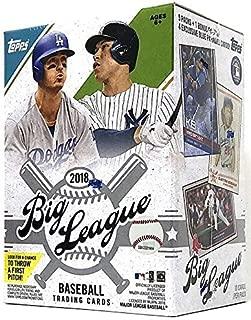2018 big league baseball cards