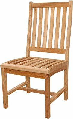 Anderson Teak Wilshire Chair, Natural