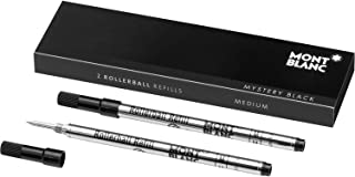 Montblanc Rollerball Refills (M) Mystery Black 105158 – Quick-Drying Pen Refills for..